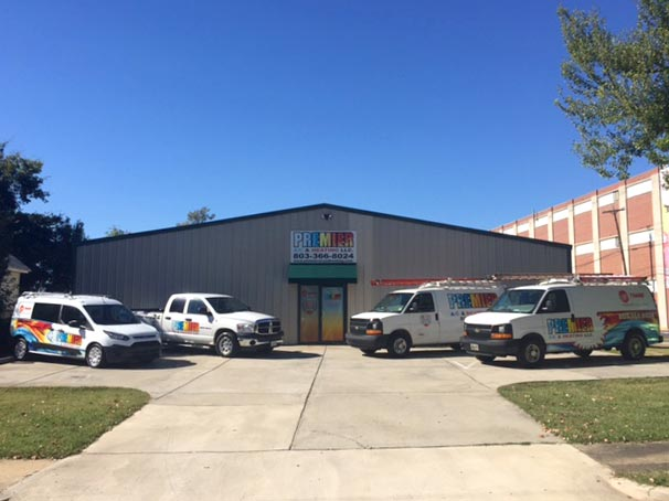 Premier AC & Heating LLC | Rock Hill, SC | the premier ac andheating fleet and location