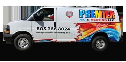 Premier AC & Heating LLC | Rock Hill, SC | the premier van